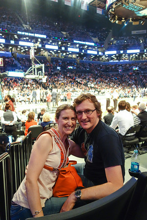 #Brooklyn #Nets game for Alec's 40th Birthday
