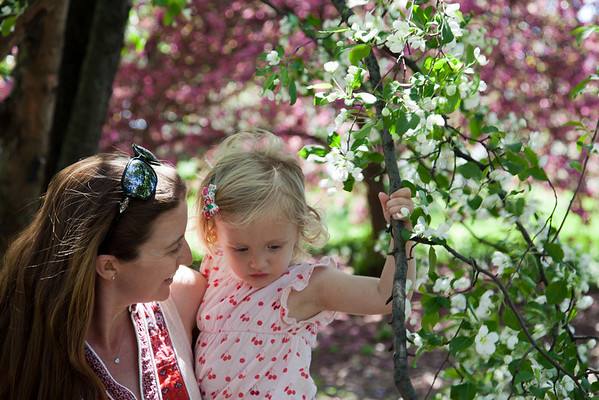 Mother's Day at the New York Botanical Gardens