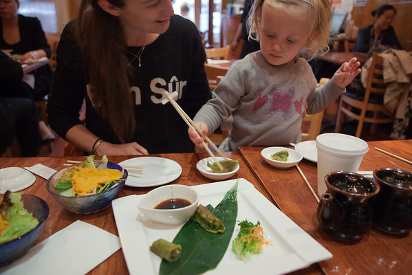 Why I Take My Child To Restaurants via akissgoodnight.co